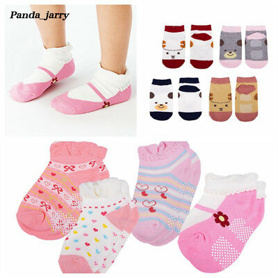 Girls Lovely Cartoon Ankle Socks Baby Boys Soft Short Socks Christmas Gift