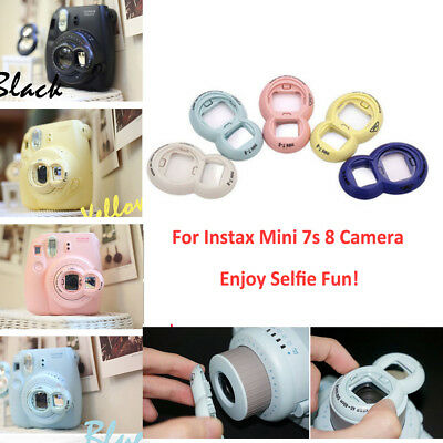 For Fujifilm Instax Mini 7s 8 Instant Fuji Camera Close-Up Lens Selfie Mirror UK