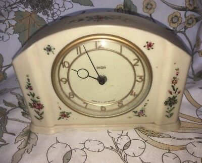 Rare And Stunning: Smiths 30-hour, Art Deco, Bakelite Mantle-Clock. Not Working