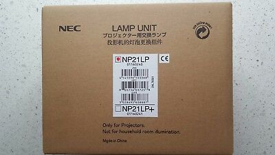 NEW NEC Projector NP21LP Genuine Lamp manufactured by NEC