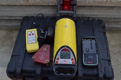 LEICA PIPER 100 Pipe Laser good working order in Keter Box
