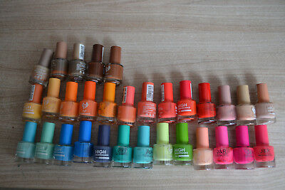 Lot  de 31 Vernis à ongles couleurs vives