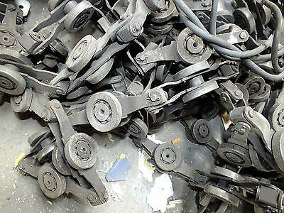 Powder Coating Graveyard--Overhead conveyor drives-chain-lubricator-bends- etc