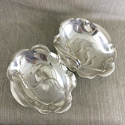 WMF ORIVIT Art Nouveau Silver Plated Twin Bowl Basket German Jugendstil