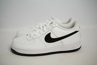 8cffd4ee5e903 596728-182 Nike Air Force 1 Low (GS) White Black Sizes 4