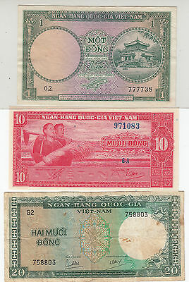 South Vietnam Banknote
