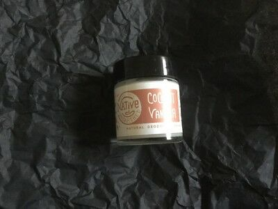 BN Native Unearthed Coconut & Vanilla Natural Deodorant Balm