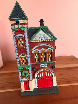 Department 56 Christmas in the City Red Brick Firestation