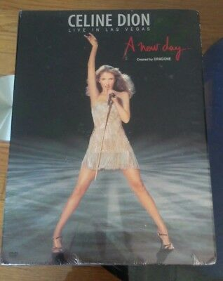 Celine Dion A New Day Live In Las Vegas DVD New Sealed