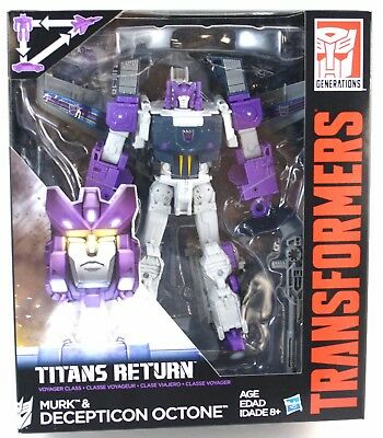 Transformers Octane Figure Titans Return Voyager Class 2017 Hasbro MISB