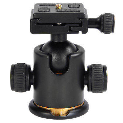 Camera Tripod Ball Head Ballhead w/ Quick Release Plate Tripod Head 26lb