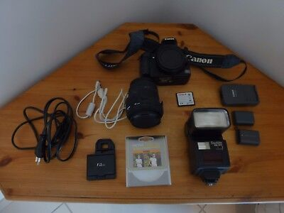 CANON EOS 400D + OBJECTIF SIGMA 18-200 mm