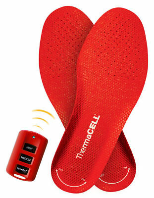 Thermacell Heated Insoles. Wireless and Rechargeable, M