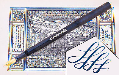 Vintage Waterman 12 1/2 PSF Fountain Pen ~ Flexible Nib ~ Beaut!