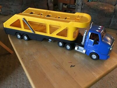 Chevron Cars Cary Carrier Great Condition Tractor and Trailer