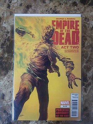 George A. Romero - Empire Of The Dead - Act Two #2 - Marvel Comics - VF/NM