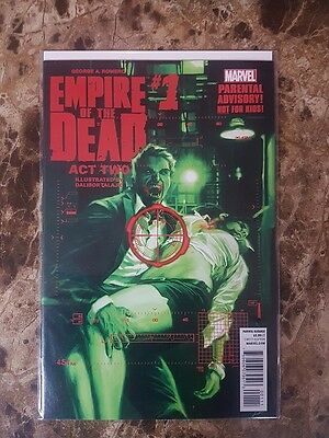 George A. Romero - Empire Of The Dead - Act Two #1 - Marvel Comics - VF/NM