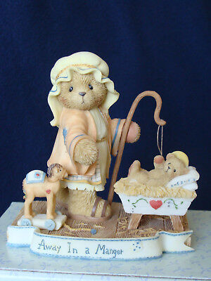 Cherished Teddies - Elijah - Shephard/Baby Figurine - Limited Edition - 112545