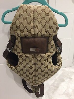 Gucci Baby Carrier Authentic Bag