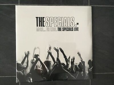 The Specials More... Or Less. The Specials Live 2 LP Vinyl New/Sealed