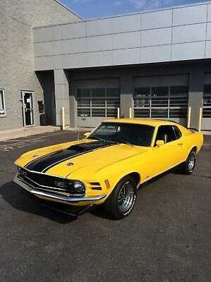 1970 Ford Mustang MACH 1 1970 Ford Mustang Mach 1 - Matching numbers - Full Restoration - $40k + invested