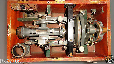 Very Rare vintage Antique Cooke Troughton & Simms Theodolite in original box
