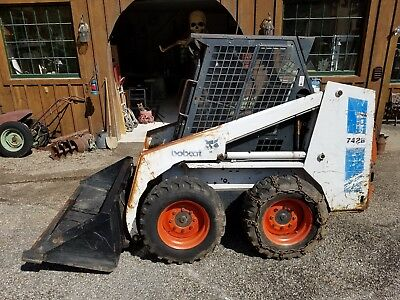 Bobcat 742b Skid Steer Wheel loader 3643 hours ready to work, well maintained