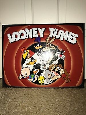 """Looney Tunes Family Collectible Tin Sign 16""""W x 12.5""""H"""