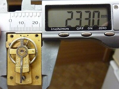 Good Old-Antique French Clock  Platform Escapement - Working (A5)