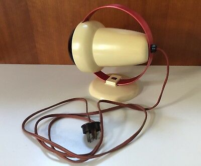 Vintage Philips Infraphil Heat Lamp Mid Century Type 7525 1950s $80 Free Post