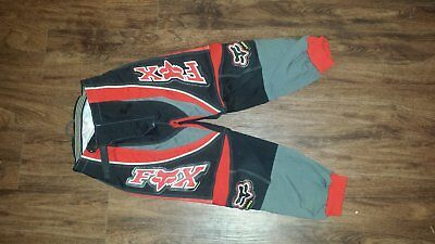 Boys Fox Motocross Pants 8