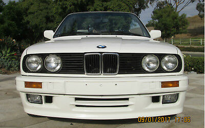 1992 BMW 3-Series Base Convertible 2-Door 1992 BMW 325 M-Tech 5-Speed E30 126K Miles White Drives Excellent Clean Title