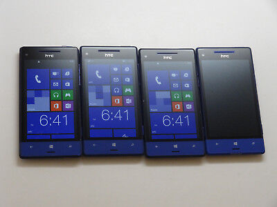 Lot of 4 HTC 8XT Sprint Smartphones AS-IS