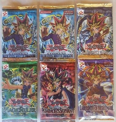 Yu-Gi-Oh 1St Edition Booster Pack Collection