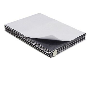 Self Adhesive Magnetic Sheets 4x5 inches - 30 mil thick - Qty:26