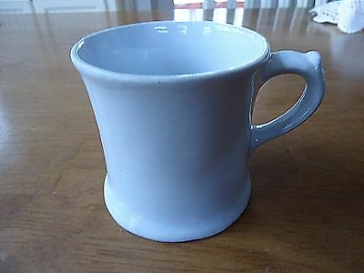 Antique White Ironstone SHAVING MUG Circa late 1800's