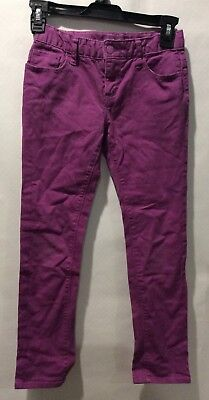 OLD NAVY skinny girls purple denim jeans size 8 reg
