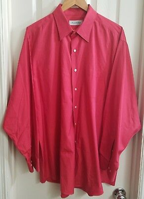 Men's Brooks Brothers Button Down Dress Shirt Red (17 1/2 - 34/35)