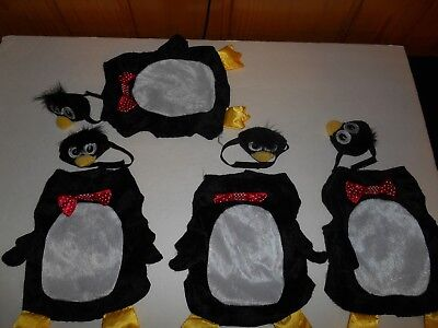 Guinea Pig Penguin Costume Clothes Lot  PET HOLIDAY BRAND