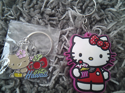 Hello Kitty keyring New metal Hawaii lot