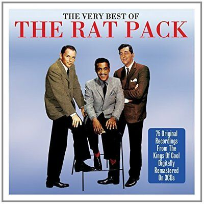 """""""Rat Pack, The""""-Very Best Of 3Cd  (US IMPORT)  CD NEW"""