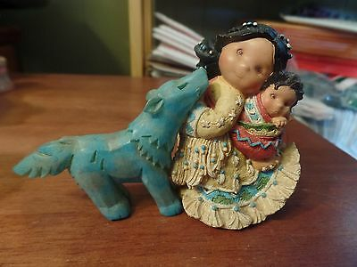 1996 Enesco Friends of The Feather Little One to Lean On  #1661