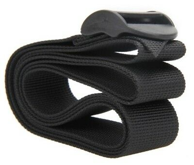 "Luggage Strap 48"" Long Black Nylon Cargo Tie Down Safety Lash Belt Travel Kit"