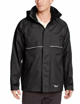 Viking Journeyman Waterproof Industrial Jacket, Black, Large