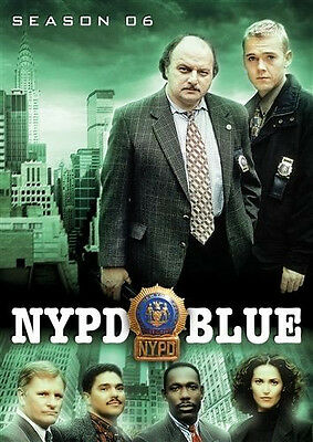 NYPD BLUE Season 6 (DVD 5-Disc Set) Sixth ~ NEW & Sealed