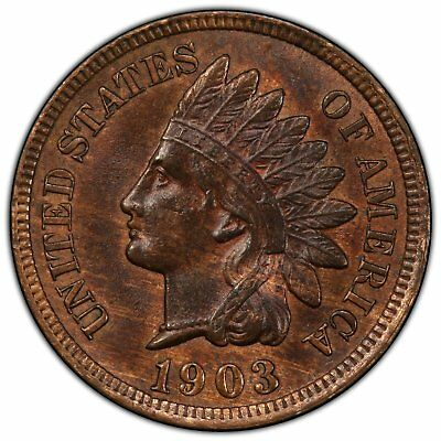 1903 Indian Head Cent PCGS MS 63 RB