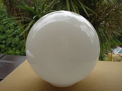 Art Deco Ball Hanging Light Shade Glass,early & Original Excellent Condition.
