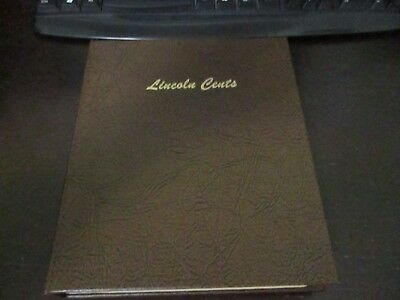 Dansco Lincoln Cent Album With 8 Pages & 206 Coins Complete From 1935 To 2016