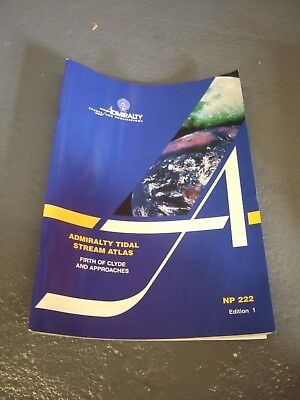 Admiralty Tidal Stream Chart Book - NP222 - Firth of Clyde [C]