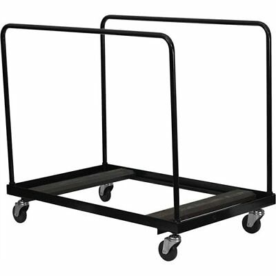 FLSH-NGDY60GG-Black Folding Table Dolly for Round Folding Tables - NG-DY60-GG